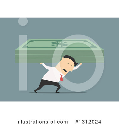 Wealthy Clipart #1312024 by Vector Tradition SM