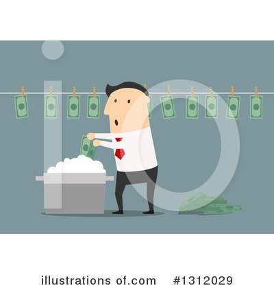 Wealthy Clipart #1312029 by Vector Tradition SM