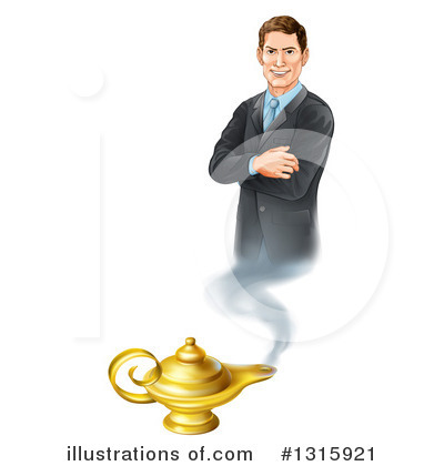 Businessman Clipart #1315921 by AtStockIllustration
