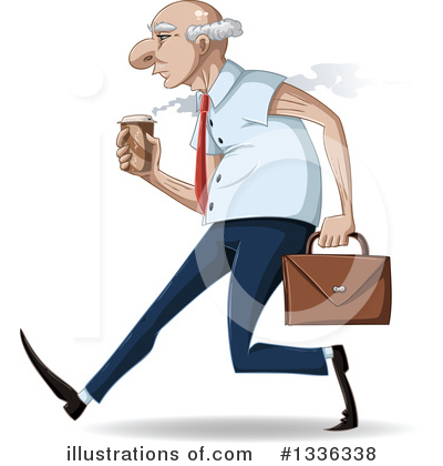 Business Man Clipart #1336338 by Liron Peer