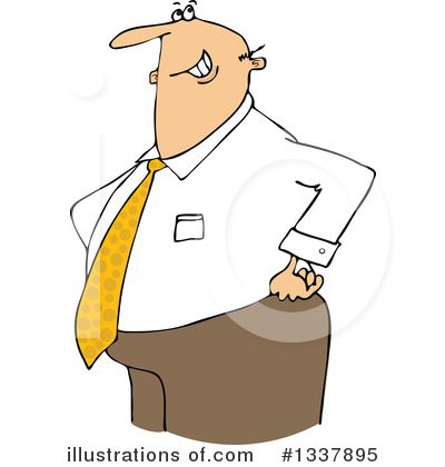 Businessman Clipart #1337895 by djart