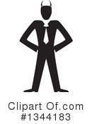 Businessman Clipart #1344183 by ColorMagic