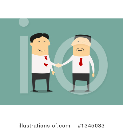 Handshake Clipart #1345033 by Vector Tradition SM