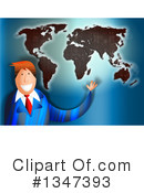 Royalty-Free (RF) Businessman Clipart Illustration #1347393