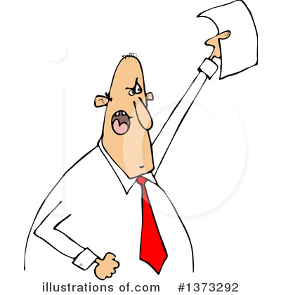Businessman Clipart #1373292 by djart