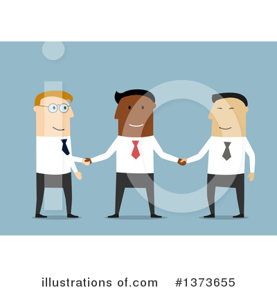 Handshake Clipart #1373655 by Vector Tradition SM