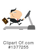 Businessman Clipart #1377255 by Hit Toon