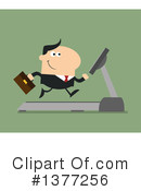 Businessman Clipart #1377256 by Hit Toon