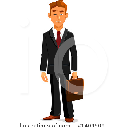 Man Clipart #1409509 by Vector Tradition SM