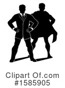 Businessman Clipart #1585905 by AtStockIllustration
