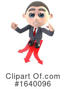 Businessman Clipart #1640096 by Steve Young