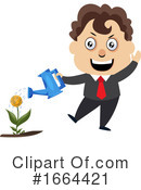 Businessman Clipart #1664421 by Morphart Creations