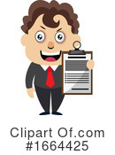 Businessman Clipart #1664425 by Morphart Creations