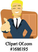 Businessman Clipart #1686195 by Morphart Creations