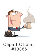 Royalty-Free (RF) Businessman Clipart Illustration #19366