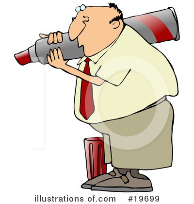 Royalty-Free (RF) Businessman Clipart Illustration by djart - Stock Sample #19699