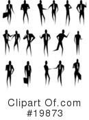 Royalty-Free (RF) Businessman Clipart Illustration #19873