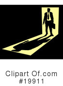 Royalty-Free (RF) Businessman Clipart Illustration #19911