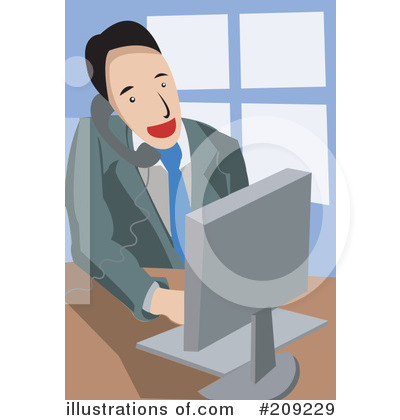 Computer Clipart #209229 by mayawizard101