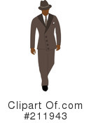 Royalty-Free (RF) Businessman Clipart Illustration #211943