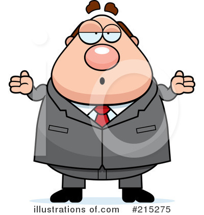 Royalty-Free (RF) Businessman Clipart Illustration by Cory Thoman - Stock Sample #215275