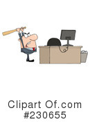 Businessman Clipart #230655 by Hit Toon