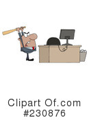 Businessman Clipart #230876 by Hit Toon