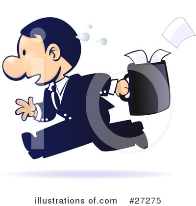 Businessman Clipart #27275 by Tonis Pan