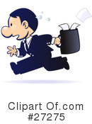 Royalty-Free (RF) Businessman Clipart Illustration #27275
