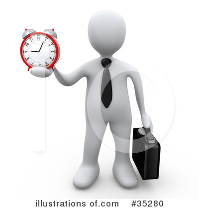 Clock Clipart #35280 by 3poD