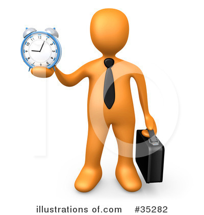 Clock Clipart #35282 by 3poD