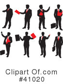 Businessman Clipart #41020 by Paulo Resende