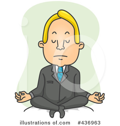 Yoga Clipart #436963 by BNP Design Studio