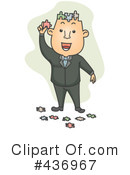 Royalty-Free (RF) Businessman Clipart Illustration #436967