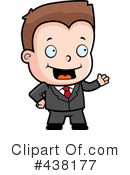 Businessman Clipart #438177 by Cory Thoman