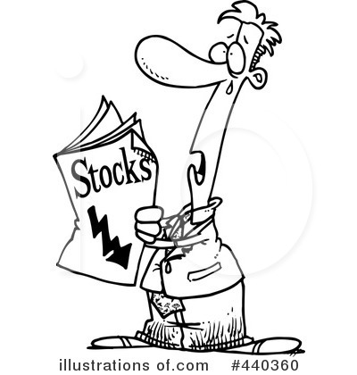 Stocks Clipart #440360 by toonaday