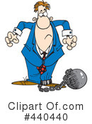 Royalty-Free (RF) Businessman Clipart Illustration #440440