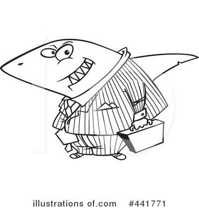 Shark Clipart #441771 by toonaday