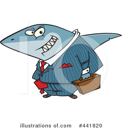 Shark Clipart #441820 by toonaday