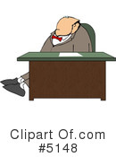 Royalty-Free (RF) Businessman Clipart Illustration #5148