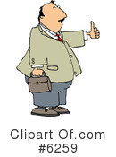 Businessman Clipart #6259 by djart