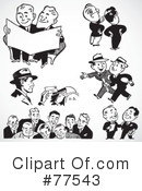 Royalty-Free (RF) Businessman Clipart Illustration #77543