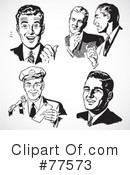 Royalty-Free (RF) Businessman Clipart Illustration #77573