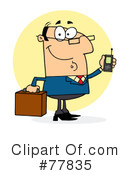 Businessman Clipart #77835 by Hit Toon