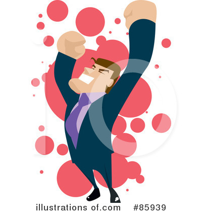 Royalty-Free (RF) Businessman Clipart Illustration by mayawizard101 - Stock Sample #85939