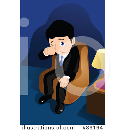 Royalty-Free (RF) Businessman Clipart Illustration by mayawizard101 - Stock Sample #86164