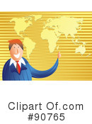 Royalty-Free (RF) Businessman Clipart Illustration #90765