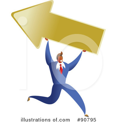 Royalty-Free (RF) Businessman Clipart Illustration by Prawny - Stock Sample #90795