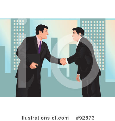 Royalty-Free (RF) Businessman Clipart Illustration by mayawizard101 - Stock Sample #92873