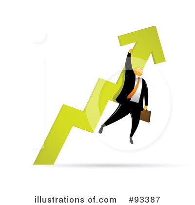 Royalty-Free (RF) Businessman Clipart Illustration by Qiun - Stock Sample #93387